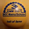 Minigolf - Ball of Fame DMM 2007 MGC Mainz Schüler